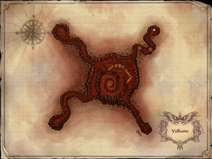 Volkane Dungeon Map