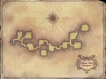 Dekane Mine Dungeon Map