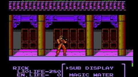 Flying Warriors (NES Game) Gameplay