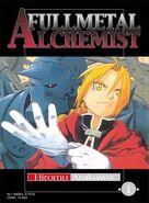 FullMetal Alchemist manga okladka 1