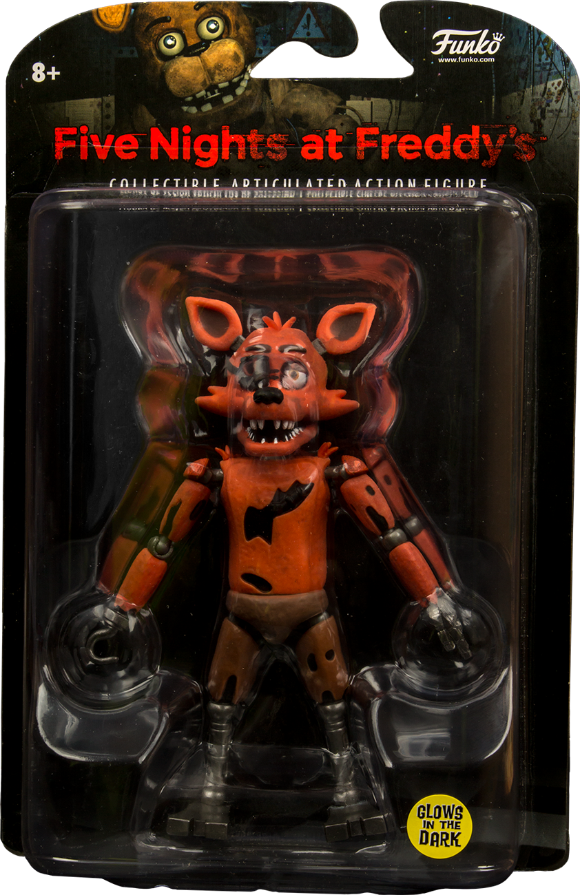 Funko Glow In The Dark Foxy Collectible Action Figure