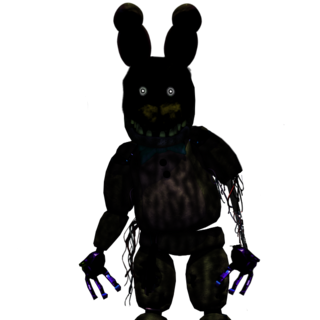 Lockdown after he was found to be used in Fazbears Fright.