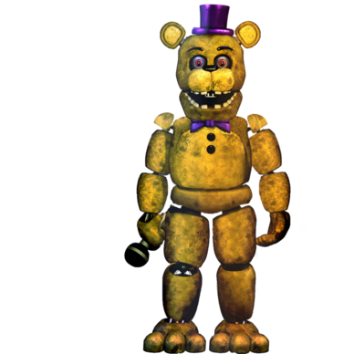Fnaf2 fredbear commission by christian2099-d9icc62
