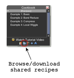 Cookbook browse download recipes