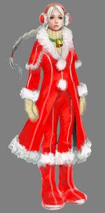 Ellen Costume Cloak of Sidhe Christmas artwork