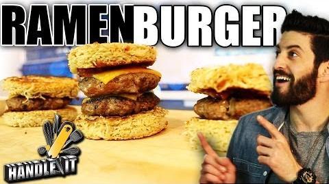 Ramen Burger - Handle It