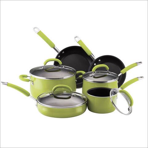 File:Rachael-ray--10piece-green-porcelain-cookware-set-14140.jpg