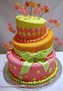 Pinkbdaycake