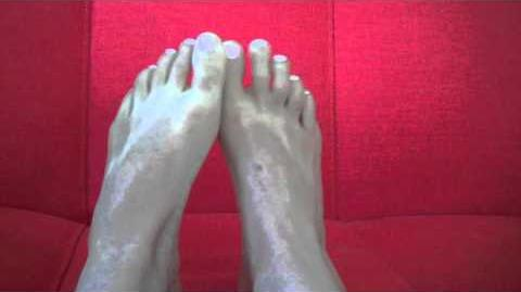 Foot porn audition tape