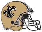 New Orleans Saints helmet rightface svg