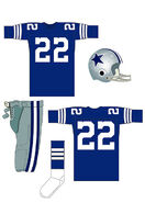 Cowboys blue uniform 1964