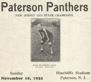 McBride Paterson Panthers 1935