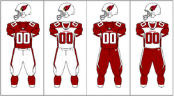 NFCW-Uniform-jersey pants combination-ARI
