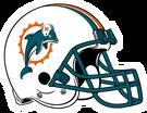 Miami Dolphins helmet rightface