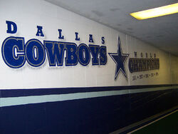 Texas Stadium - Dallas Cowboys World Champions Mural