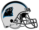 Carolina Panthers helmet rightface