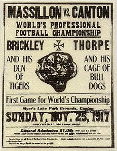 1917 Bulldogs-Tigers