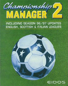 Championship Manager 96 97 cover