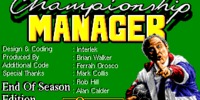 Championship Manager '94: End of Season Edition