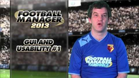 Football Manager 2013 Video Blog GUI and Usability 1 (English version)