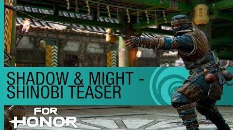 For Honor- The Shinobi Gameplay - New Hero Preview (Season 2)