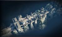 Sanctuary Bridge 2v2 map overview