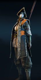 Nobushi in orange and black
