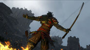 Harrowgate samurai triumph