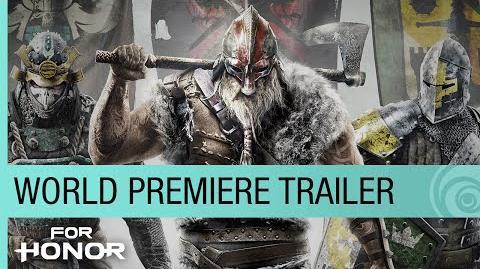 For Honor World Premiere Trailer - E3 2015 US