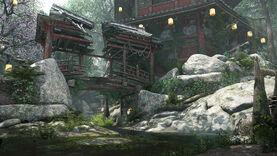 Forest - samurai map