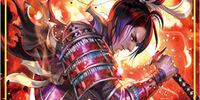 Ushuah, the Flame Samurai Swordman