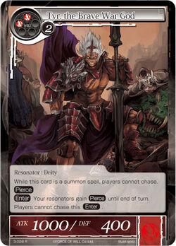 Tyr, the Brave War God