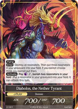 Diabolos, the Nether Tyrant