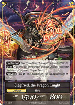 Siegfried the Dragon Knight