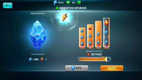 Soulstone upgrade