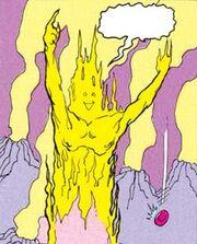 Fire elemental ADD comic