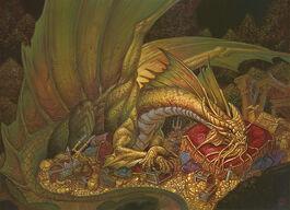 Gold dragon - Chris Seaman