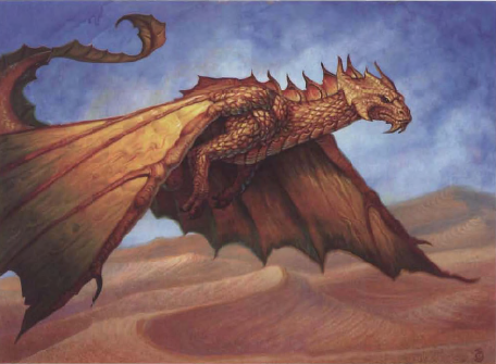 File:Dragonomicon Metalic Dragons - Brass Dragon - p157.png