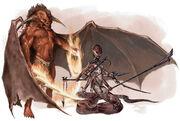 Balor and marilith