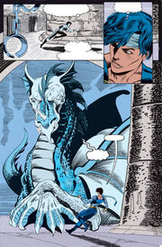Arena of Blood and a blue dragon