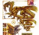 Gold dragon