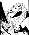 Monster manual 1e - Bronze dragon - p32.png