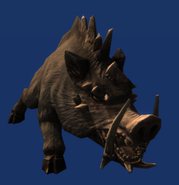 Neverwinter Nights 2 - Creatures - Dire Boar