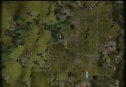 Graveyard exterior map