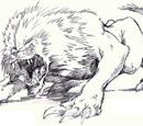 Dire lion