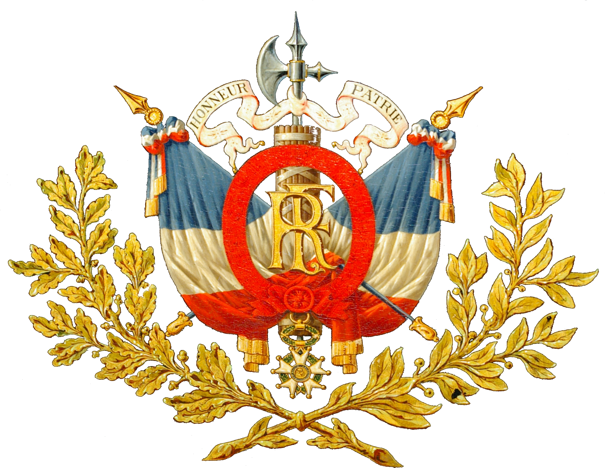 image   emblem of the third french republic png the