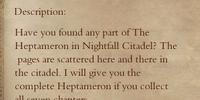 The Heptameron 1 - Books