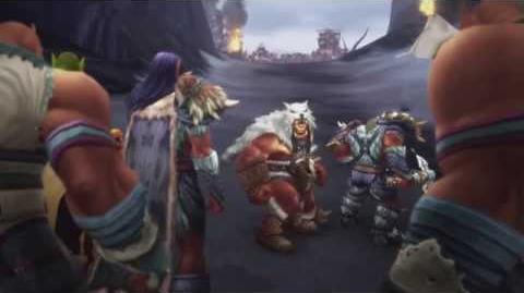 Warlords of Draenor Schlacht am Donnerpass (Horde) Endsequenz