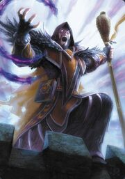 Medivh the Corrupted TCG WotA-H 007 B