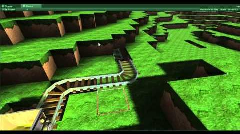FortressCraft Unity Minecart and Resources preview
